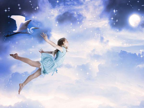 Mơ thấy mình đang bay